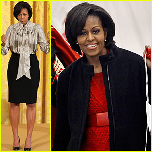 Michelle Obama: Toys for Tots!