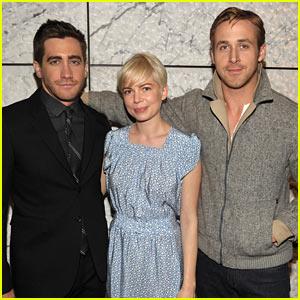 Jake Gyllenhaal: 'Blue Valentine' Screening with Michelle Williams!