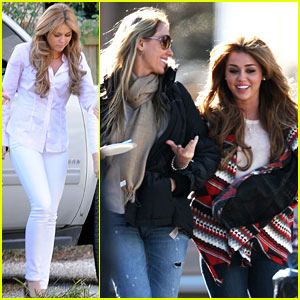 Miley Cyrus: 'So Undercover' with Mom Tish!