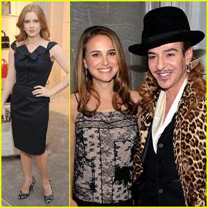 Natalie Portman & Amy Adams: Dior Duo