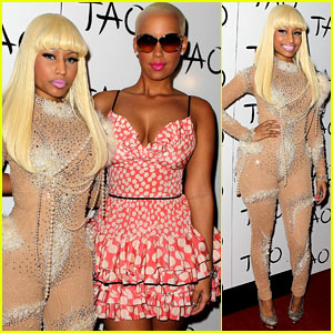 Nicki Minaj: Birthday Party with Amber Rose!