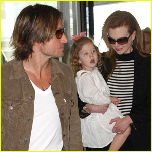 Nicole Kidman & Keith Urban: Sydney Airport Take Two!