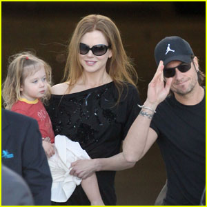 Nicole Kidman & Keith Urban Take Sunday to Sydney