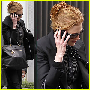 Nicole Kidman: Chilly Manhattan Morning