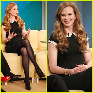 Nicole Kidman: Aaron Eckhart is Cute!