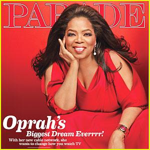Oprah Winfrey Covers 'Parade'