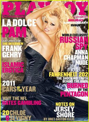 Pam Anderson Covers Playboy -- For The 13th Time!