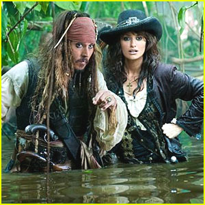 Johnny Depp: First Look at 'Pirates 4'!