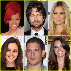 JustJared.com's Most Popular Celebs 2010