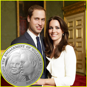 Prince William & Kate Middleton: Engagement Coin!
