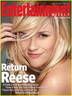 Reese Witherspoon: EW Cover Girl!