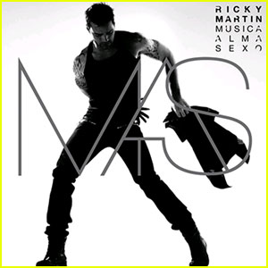 Ricky Martin: 'Music+Soul+Sex' Cover Released!