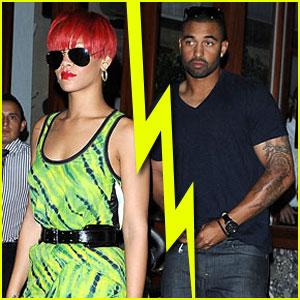 Rihanna & Matt Kemp Split