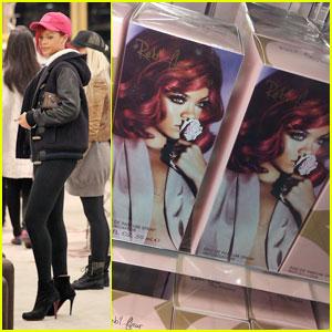 Rihanna: Reb'l Fleur Fragrance -- First Look!