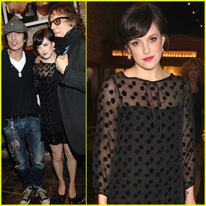Riley Keough: Mick Rock Book Launch with Tommy Lee!