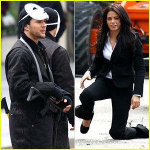 Ryan Phillippe & Jenna Dewan Shoot Scenes for 'Set Up'