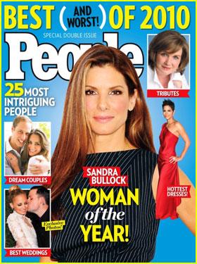Sandra Bullock is People's Woman of the Year
