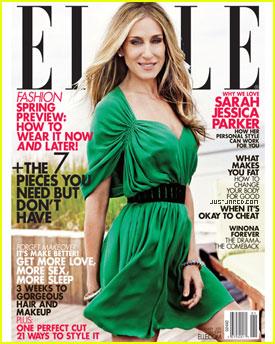 Sarah Jessica Parker Covers 'Elle' January 2011