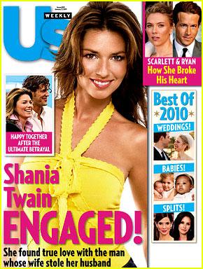 Shania Twain: Engaged to Frederic Thiebaud!