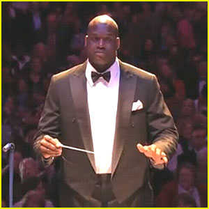 Shaquille O'Neal: Boston Pops' Guest Conductor!