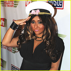 Snooki: Ball Drop for MTV's New Year's Eve Bash!