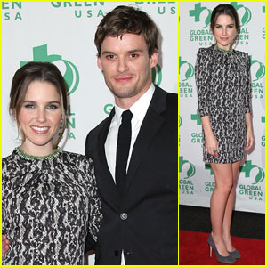 Sophia Bush & Austin Nichols: Global Green Gulf Helpers