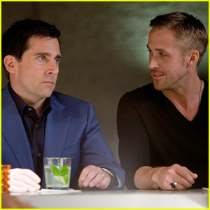 Steve Carell & Ryan Gosling: 'Crazy, Stupid, Love' -- First Look!