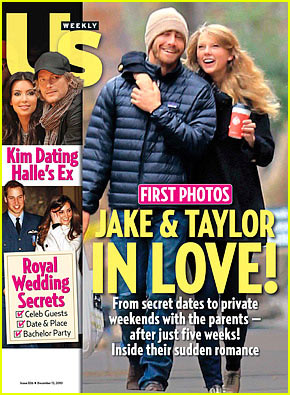 Taylor Swift & Jake Gyllenhaal's Thanksgiving Stroll -- FIRST PIC