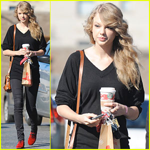 Taylor Swift: Coffee Run sans Jake Gyllenhaal!