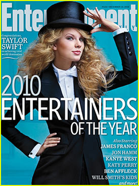 Taylor Swift: EW's Entertainer of the Year!