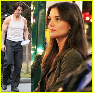 Tom Cruise & Katie Holmes Get Back to Work