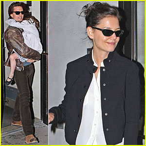 Tom Cruise & Katie Holmes: Plaza Hotel Visit!