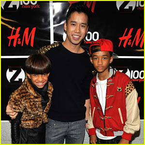 Willow Smith: Z100 Jingle Ball 2010 with Jaden!