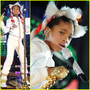 Willow Smith: Whip My Christmas Hair!