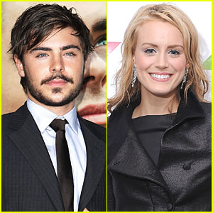 Zac Efron & Taylor Schilling: Good Friends!