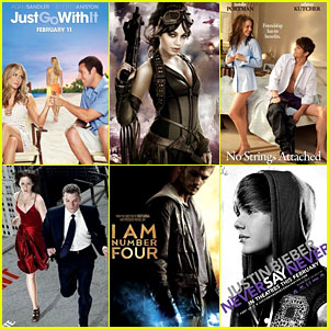 Just Jared's Winter 2011 Movie Preview!