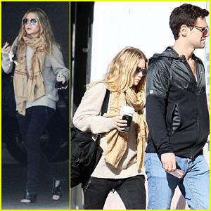 Ashley Olsen: Shopping with Justin Bartha