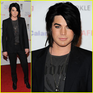 Adam Lambert: Elton John Private Benefit Concert!