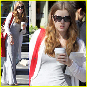 Amy Adams: Breakfast with Darren Le Gallo & Aviana!