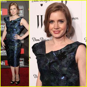 Amy Adams: Critics Choice Awards 2011 & 'W' Party!