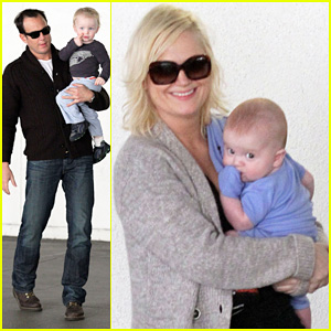 Amy Poehler & Will Arnett: Meet Abel!