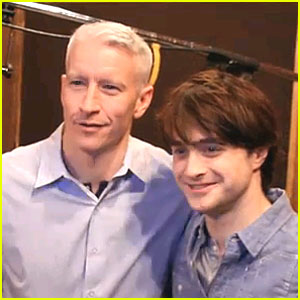 Anderson Cooper & Daniel Radcliffe: 'How To Succeed...' Video!