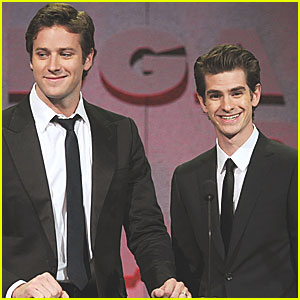 Andrew Garfield & Armie Hammer: Directors Guild Awards!