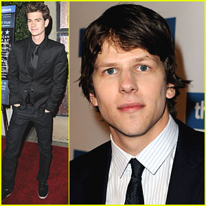 Jesse Eisenberg & Andrew Garfield: 'Social Network' DVD Launch