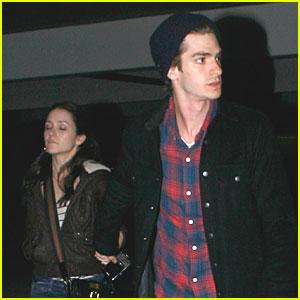 Andrew Garfield & Shannon Woodward: Movie Night!