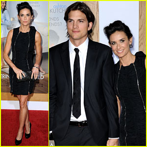 Ashton Kutcher: 'No Strings Attached' Premiere with Demi Moore!