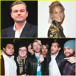 Leo DiCaprio & Bar Refaeli Have Table Manners