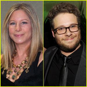 Barbra Streisand & Seth Rogen: 'My Mother's Curse' Co-stars!