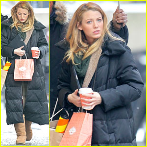 Blake Lively: Christian Louboutin Shopping Trip!