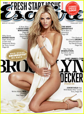 Brooklyn Decker Covers 'Esquire' February 2011